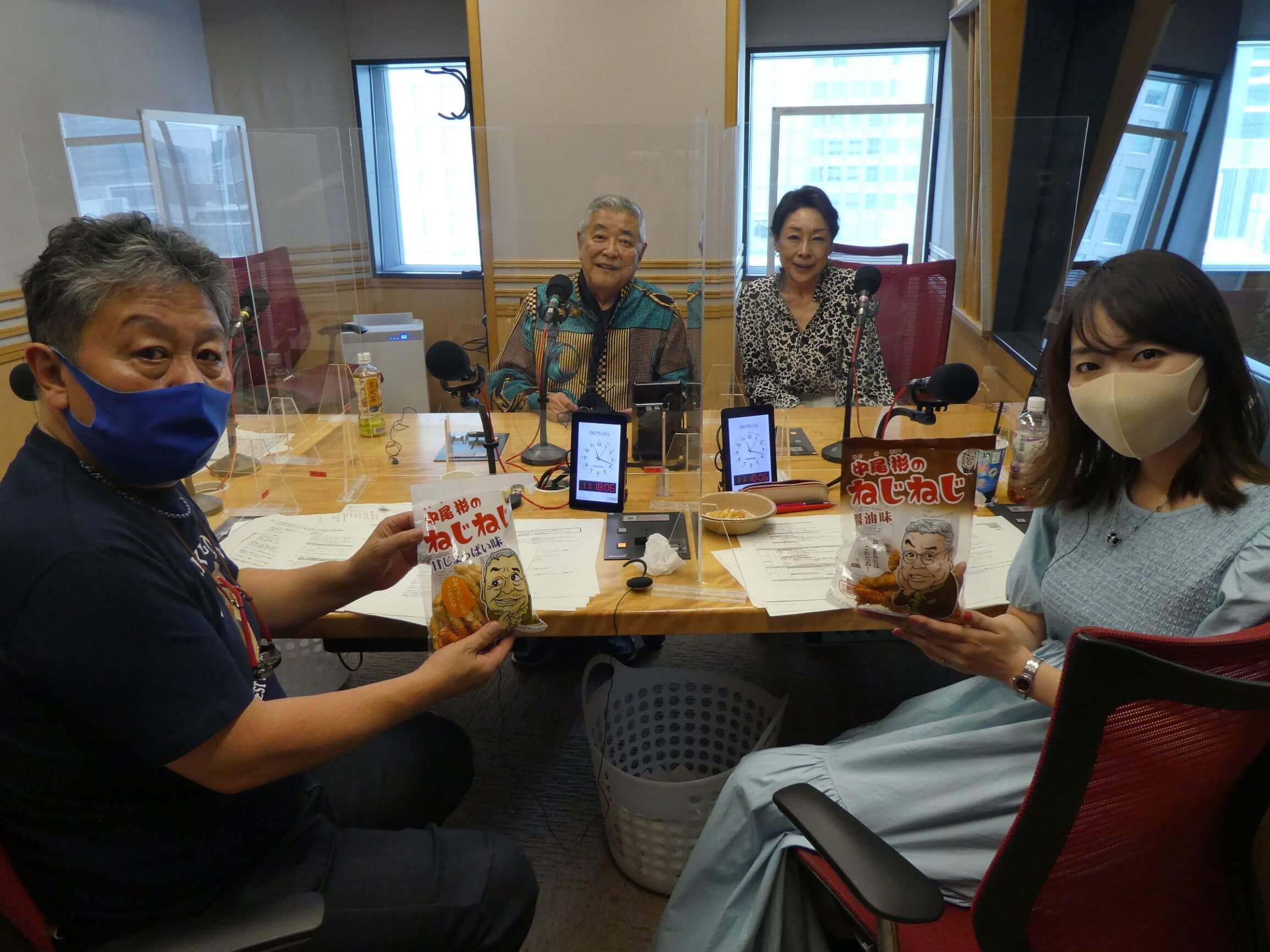 『くにまるジャパン極・極シアター』6月15日(火)のお客様:中尾彬さん・池波志乃さんご夫妻