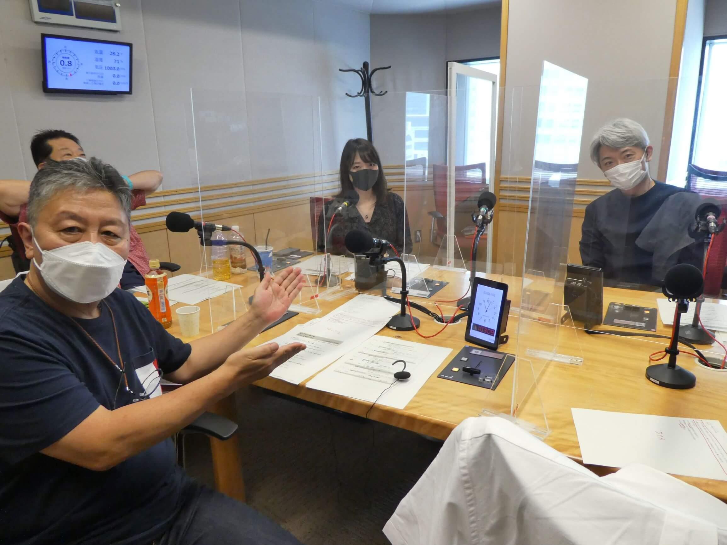 『くにまるジャパン極・極シアター』7月6日(火)のお客様:フリーアナウンサー 登坂淳一さん