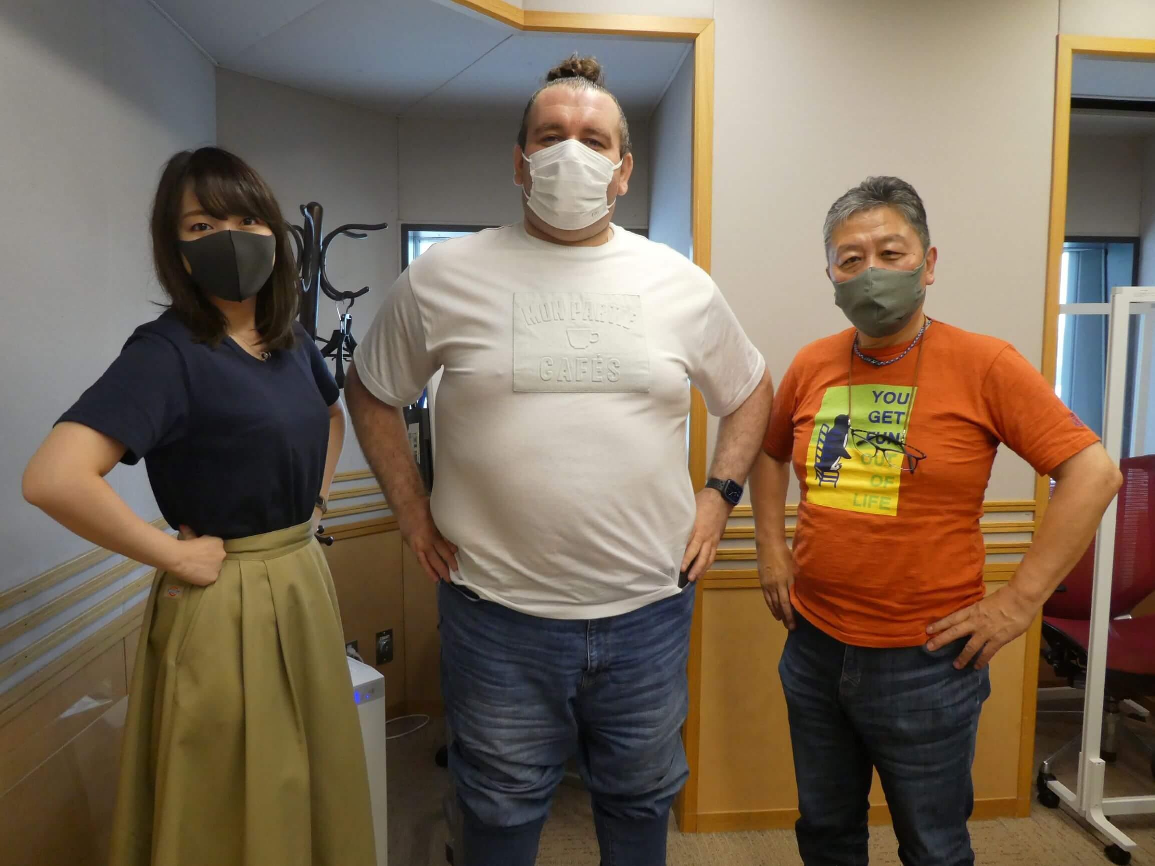 『くにまるジャパン極・極シアター』7月13日(火)のお客様:元小結・臥牙丸さん