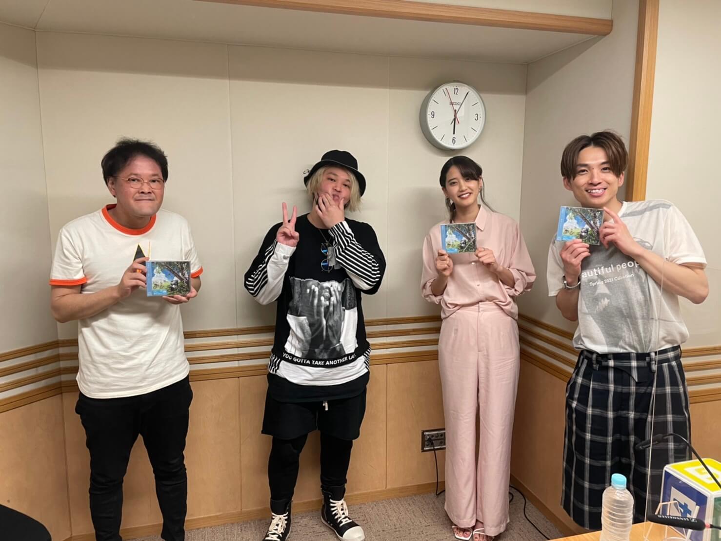 8月1日のゲストはsaji・ボーカルのヨシダタクミさんが登場!ダイエット大成功とリバウンドで気づいたのは・・?『アインシュタイン・山崎紘菜 Heat&Heart!』