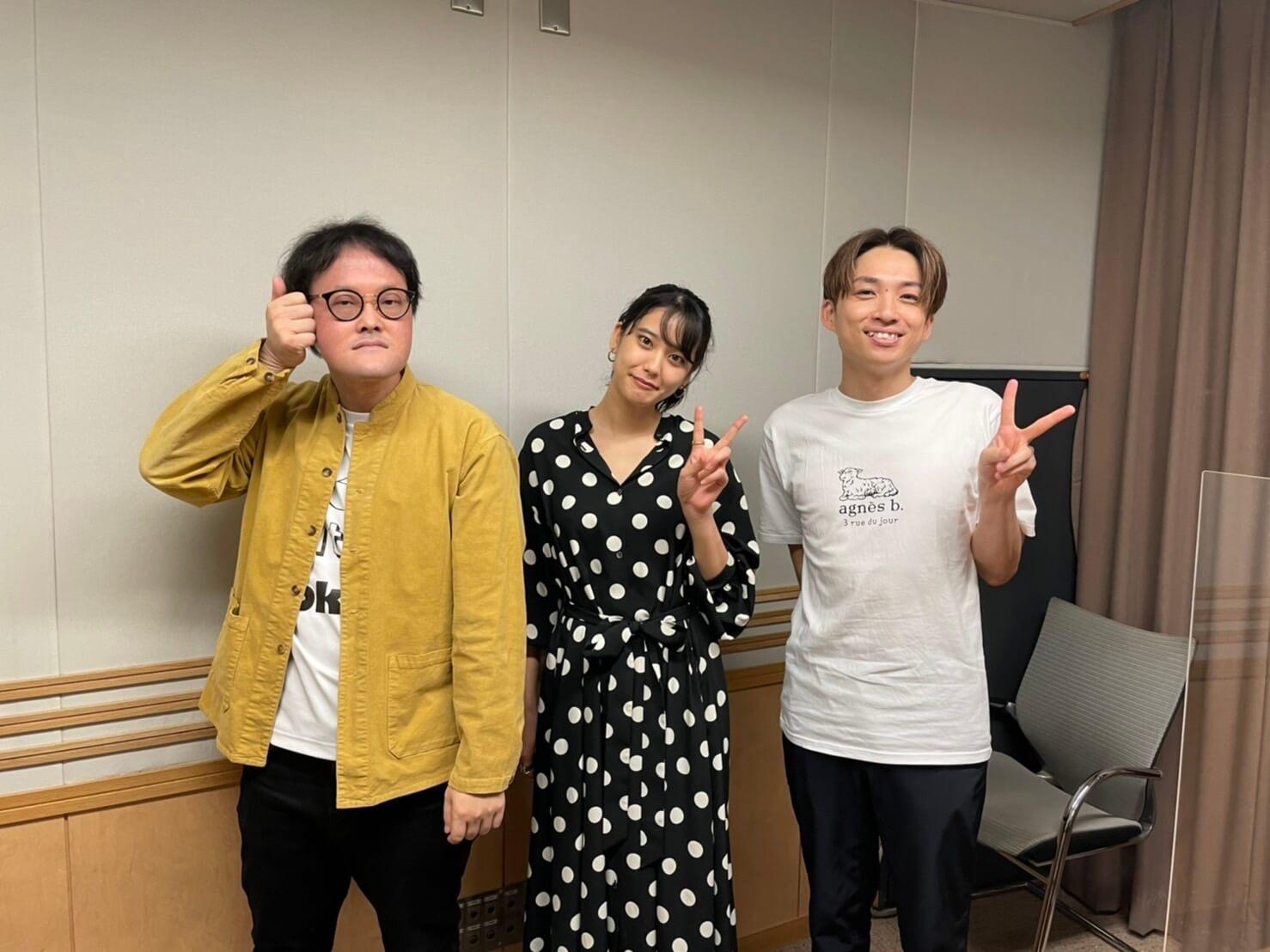 10月10日のゲストはアーティスト・秋山黄色さんが登場!ボートレースCM楽曲「ナイトダンサー」に込められた想いとは・・・『アインシュタイン・山崎紘菜 Heat&Heart!』