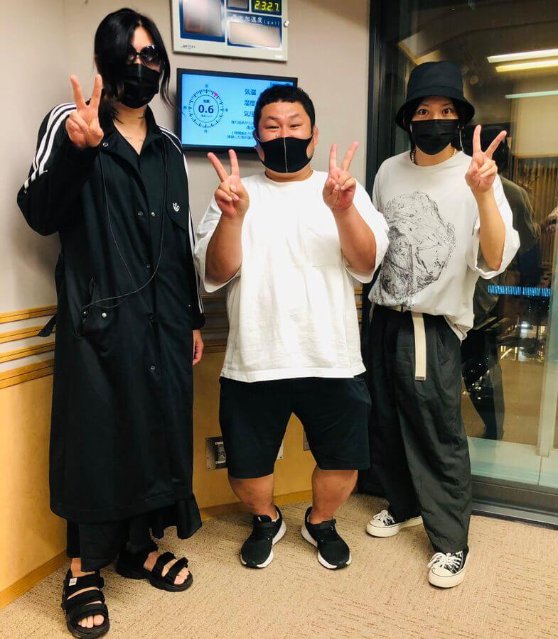 6/23(水)The Brow BeatのRyujiさんとHAKUEIさんが5軍リスナーを大絶賛?
