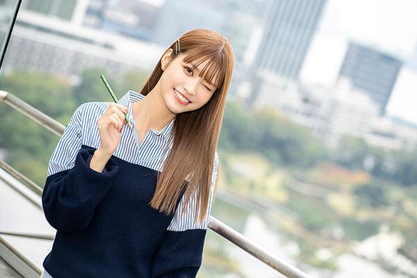 生見愛瑠インタビュー 大舞台との向き合い方「~キミはひとりじゃない~ 文化放送 受験生応援キャンペーン」